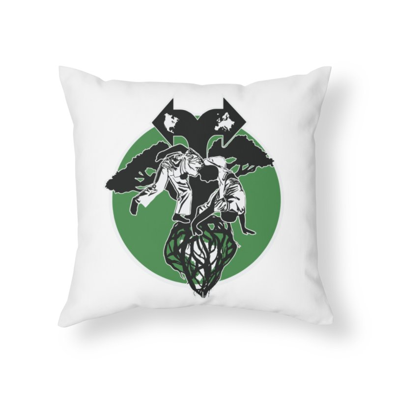 Capoeira Roots Home Throw Pillow by Afro Triangle's