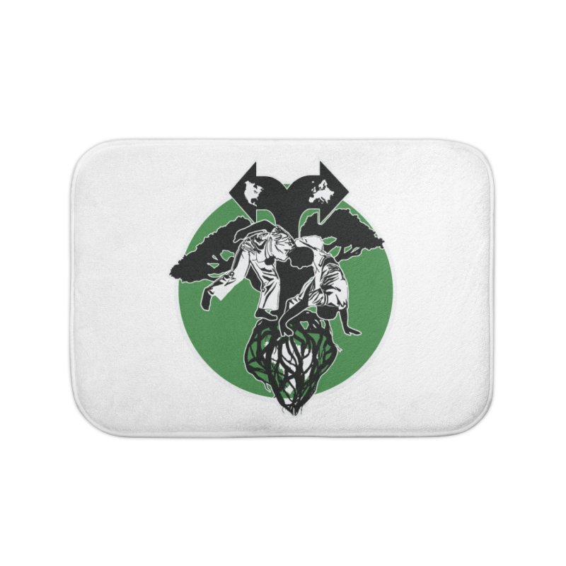 Capoeira Roots Home Bath Mat by Afro Triangle's