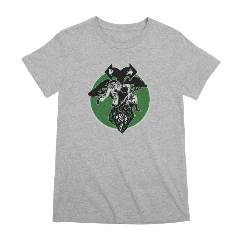 Capoeira Roots Women's Premium T-Shirt by Afro Triangle's