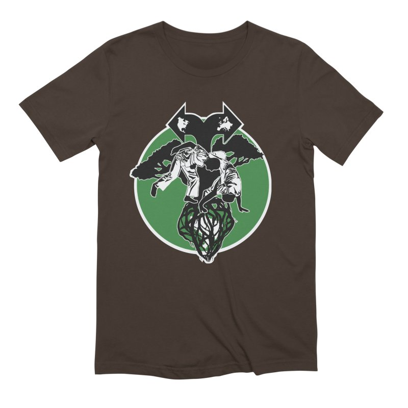 Capoeira Roots Men's Extra Soft T-Shirt by Afro Triangle's