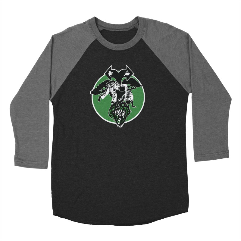 Capoeira Roots Women's Baseball Triblend Longsleeve T-Shirt by Afro Triangle's