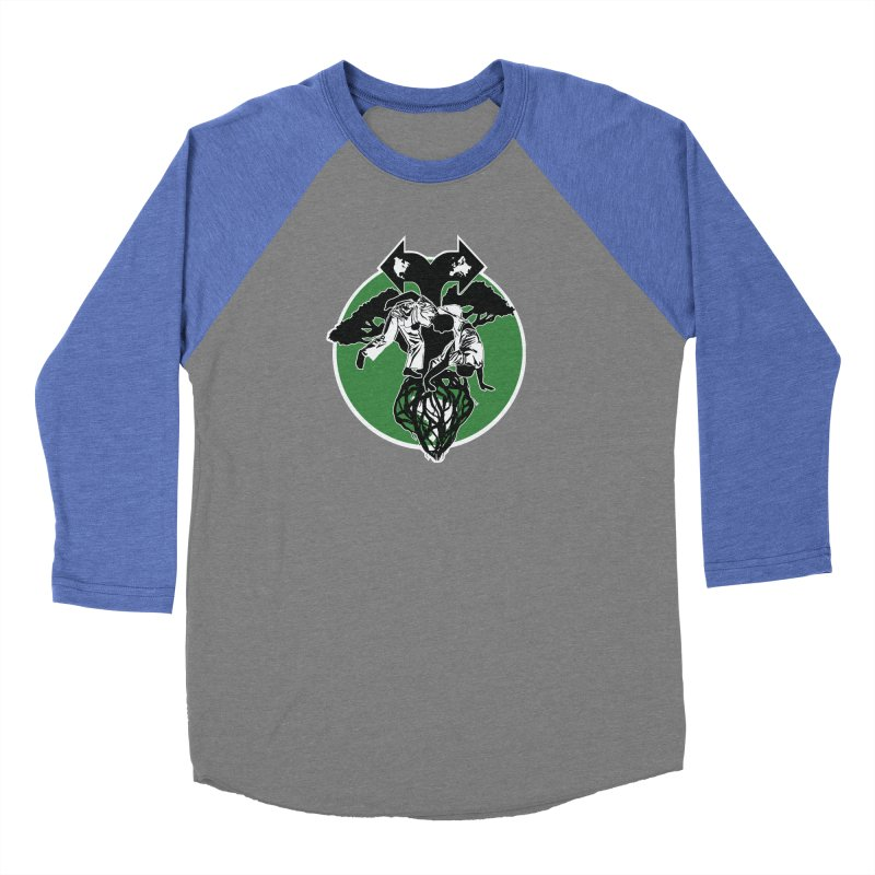 Capoeira Roots Men's Baseball Triblend Longsleeve T-Shirt by Afro Triangle's