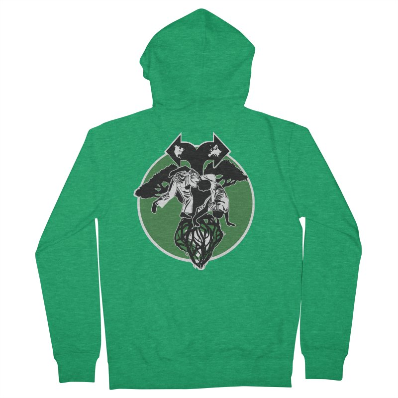 Capoeira Roots Women's Zip-Up Hoody by Afro Triangle's
