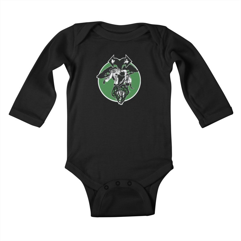 Capoeira Roots Kids Baby Longsleeve Bodysuit by Afro Triangle's