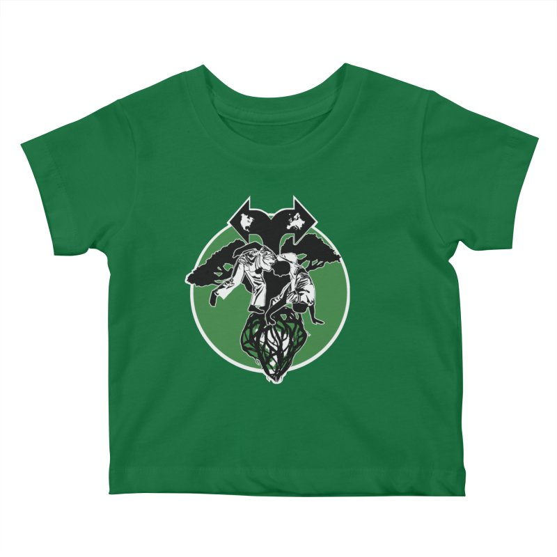 Capoeira Roots Kids Baby T-Shirt by Afro Triangle's