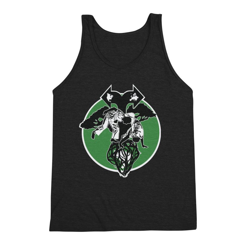 Capoeira Roots Men's Triblend Tank by Afro Triangle's