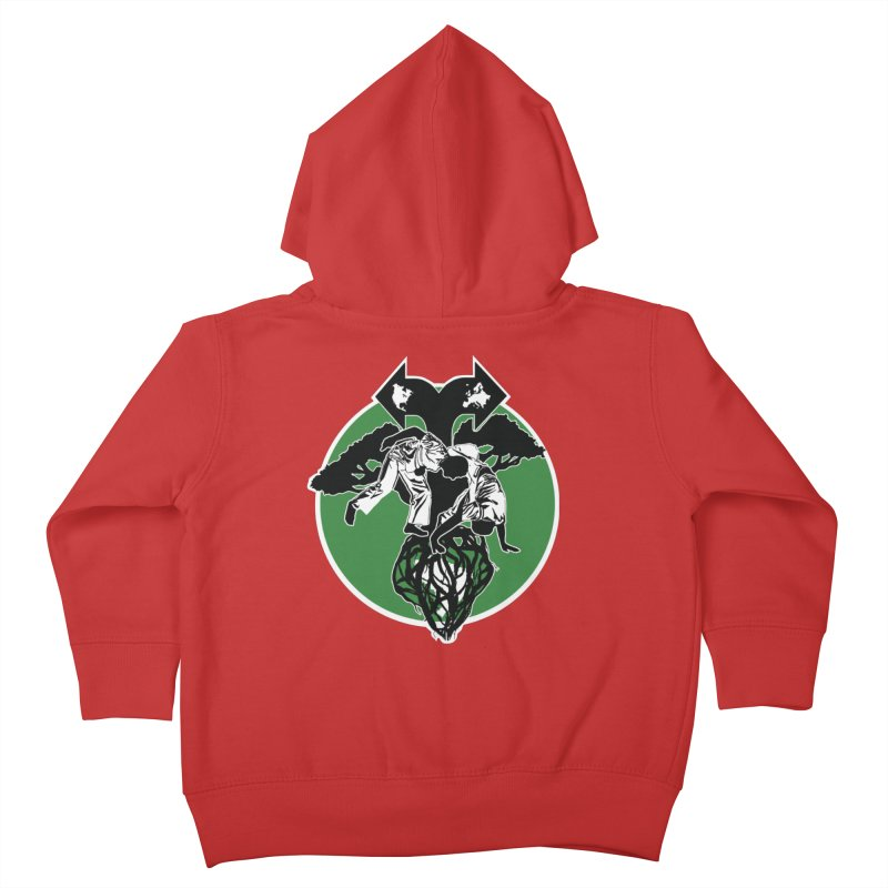 Capoeira Roots Kids Toddler Zip-Up Hoody by Afro Triangle's