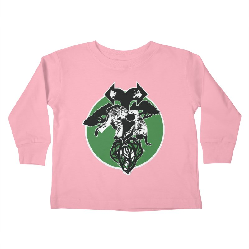 Capoeira Roots Kids Toddler Longsleeve T-Shirt by Afro Triangle's
