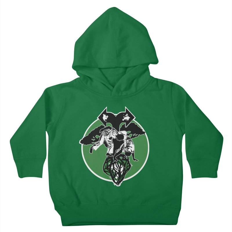 Capoeira Roots Kids Toddler Pullover Hoody by Afro Triangle's