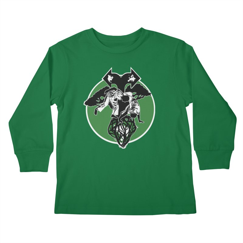 Capoeira Roots Kids Longsleeve T-Shirt by Afro Triangle's