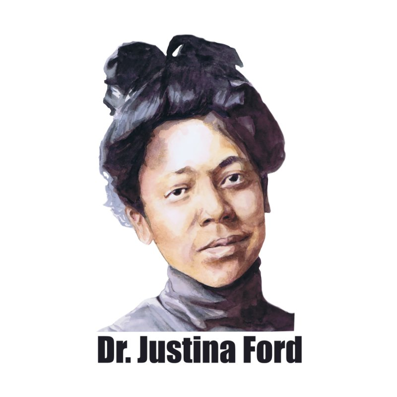Dr Justina Ford Women's Longsleeve T-Shirt by Afro Triangle's