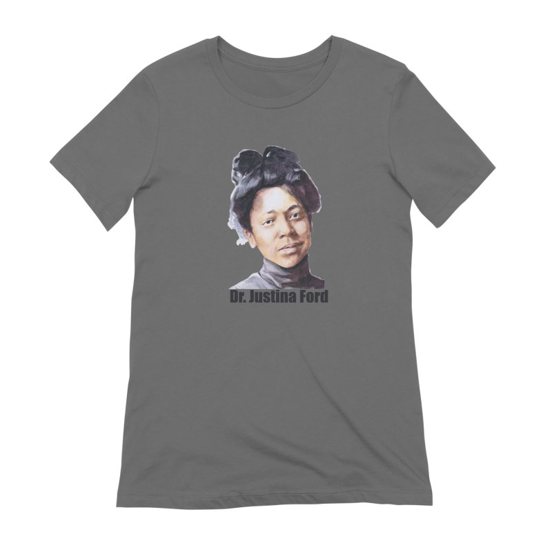 Dr Justina Ford Women's T-Shirt by Afro Triangle's