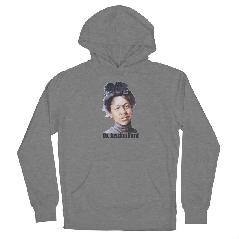 Dr Justina Ford Women's Pullover Hoody by Afro Triangle's