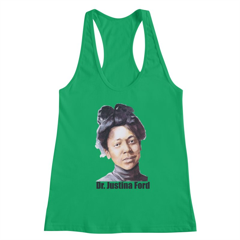 Dr Justina Ford Women's Tank by Afro Triangle's