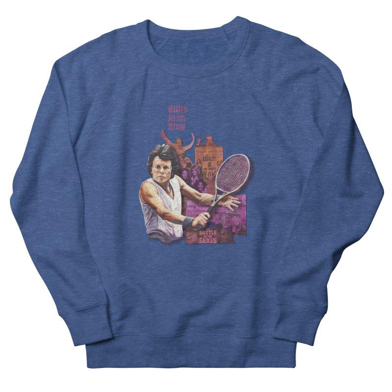 Billie Jean King Men's Sweatshirt by Afro Triangle's