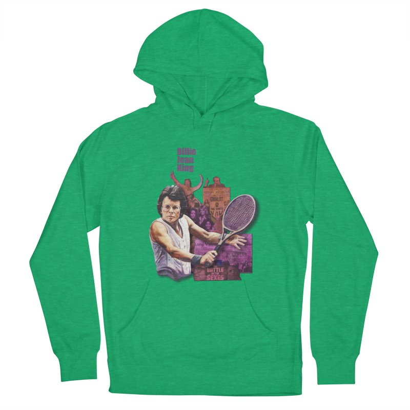 Billie Jean King Women's Pullover Hoody by Afro Triangle's