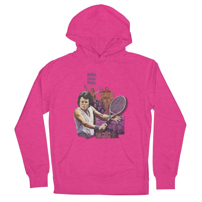 Billie Jean King Men's Pullover Hoody by Afro Triangle's