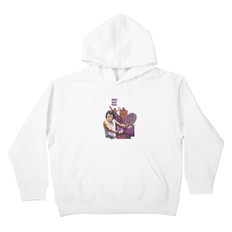 Billie Jean King Kids Pullover Hoody by Afro Triangle's