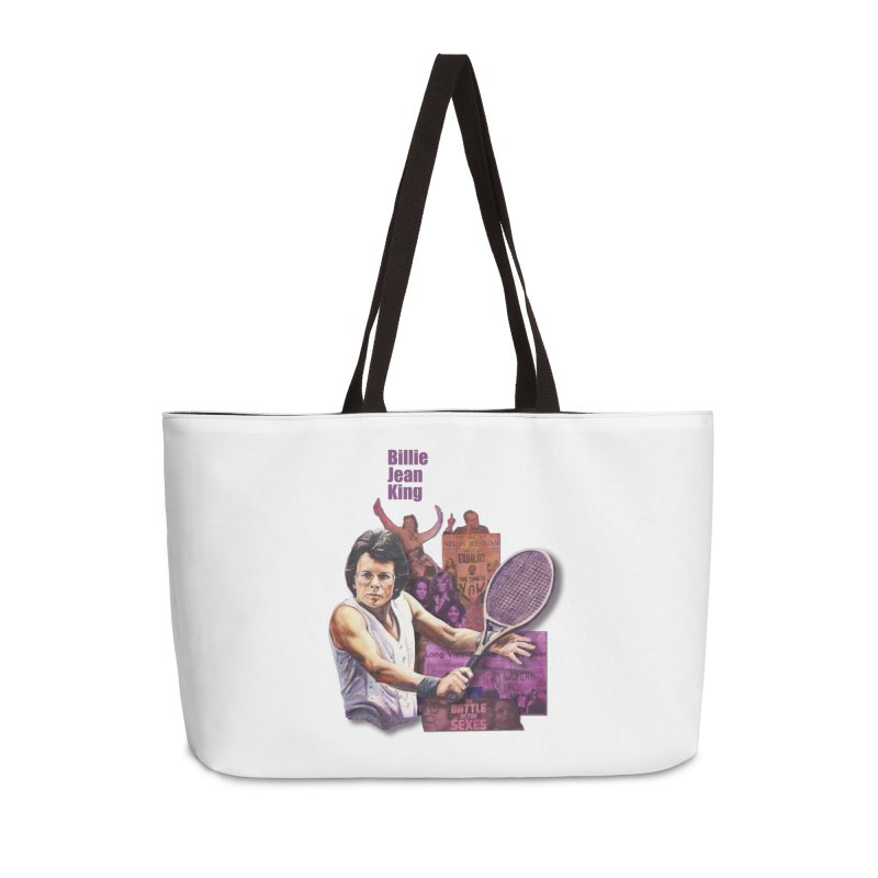 Billie Jean King Accessories Weekender Bag Bag by Afro Triangle's