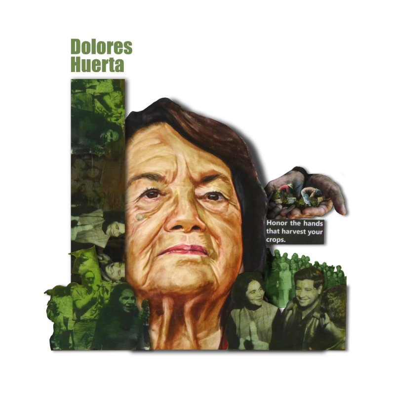 Dolores Huerta by Afro Triangle's