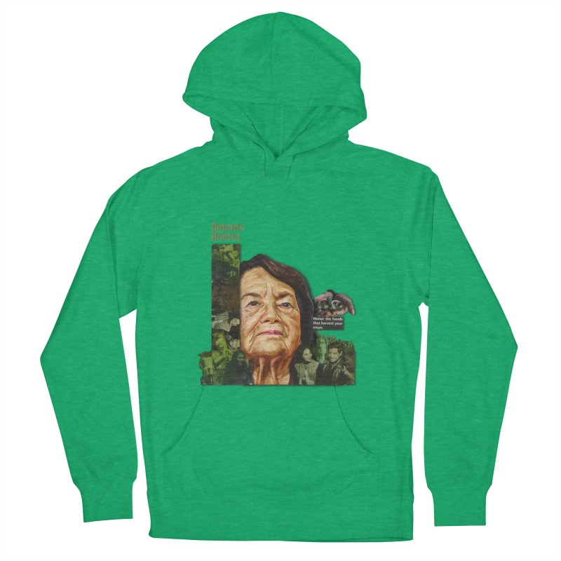 Dolores Huerta Women's Pullover Hoody by Afro Triangle's