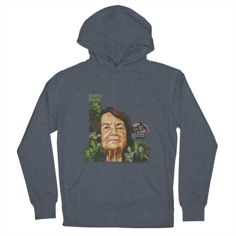 Dolores Huerta Men's Pullover Hoody by Afro Triangle's