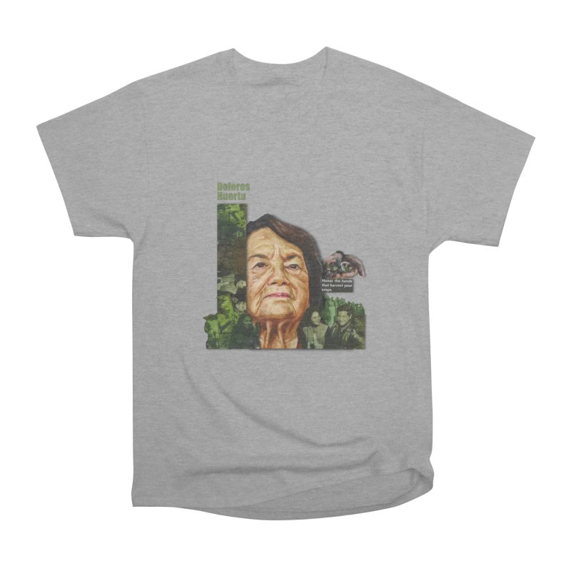 Dolores Huerta Men's Classic T-Shirt by Afro Triangle's