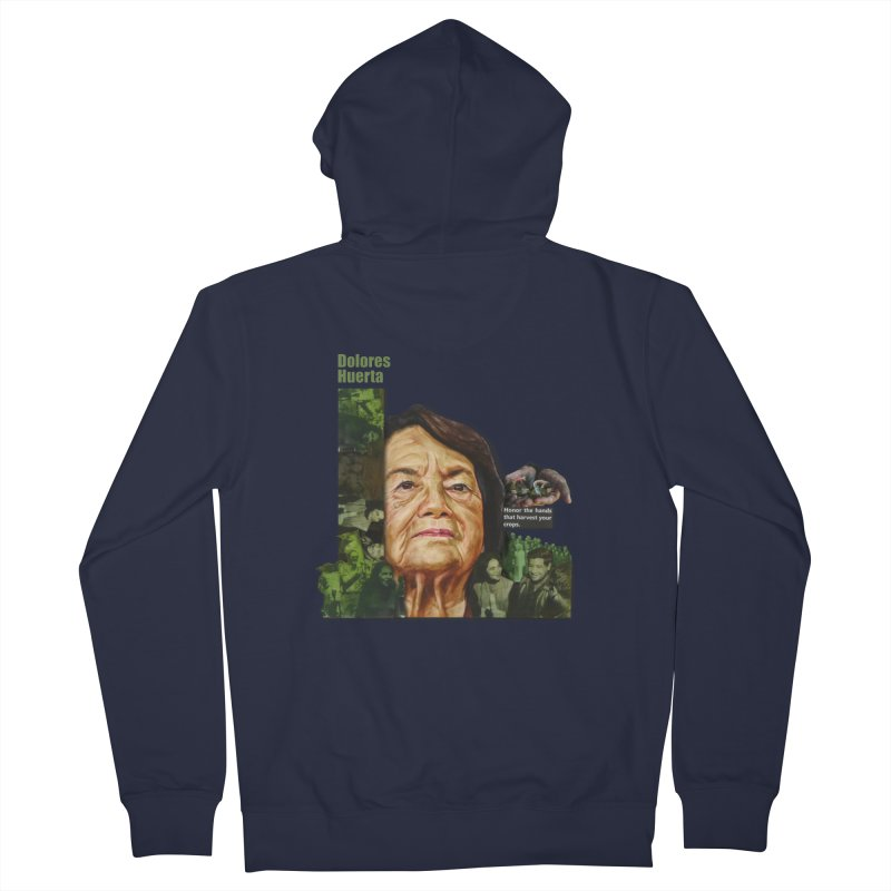 Dolores Huerta Women's Zip-Up Hoody by Afro Triangle's