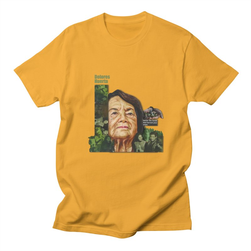 Dolores Huerta Men's T-Shirt by Afro Triangle's