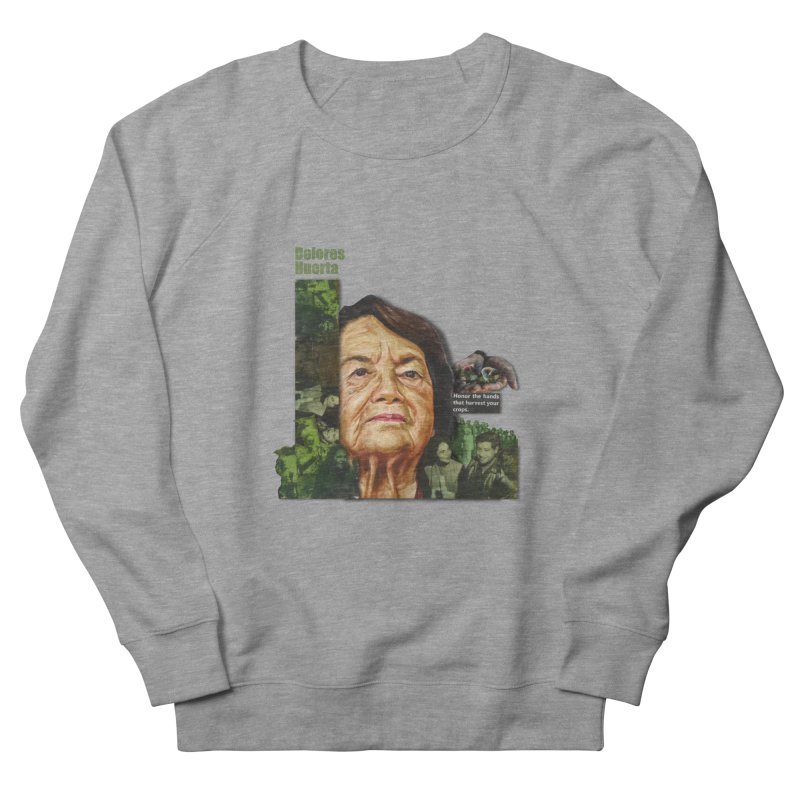 Dolores Huerta Women's Sweatshirt by Afro Triangle's