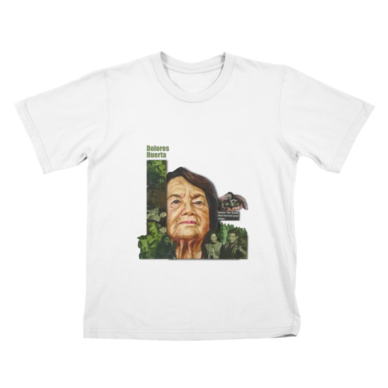 Dolores Huerta Kids T-Shirt by Afro Triangle's