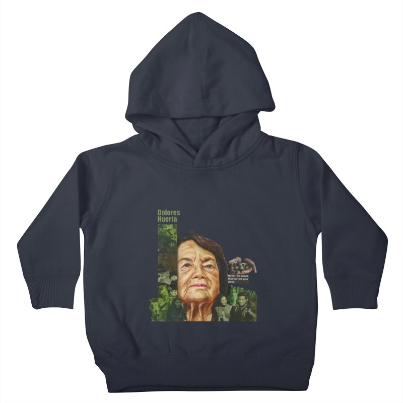 Dolores Huerta Kids Toddler Pullover Hoody by Afro Triangle's