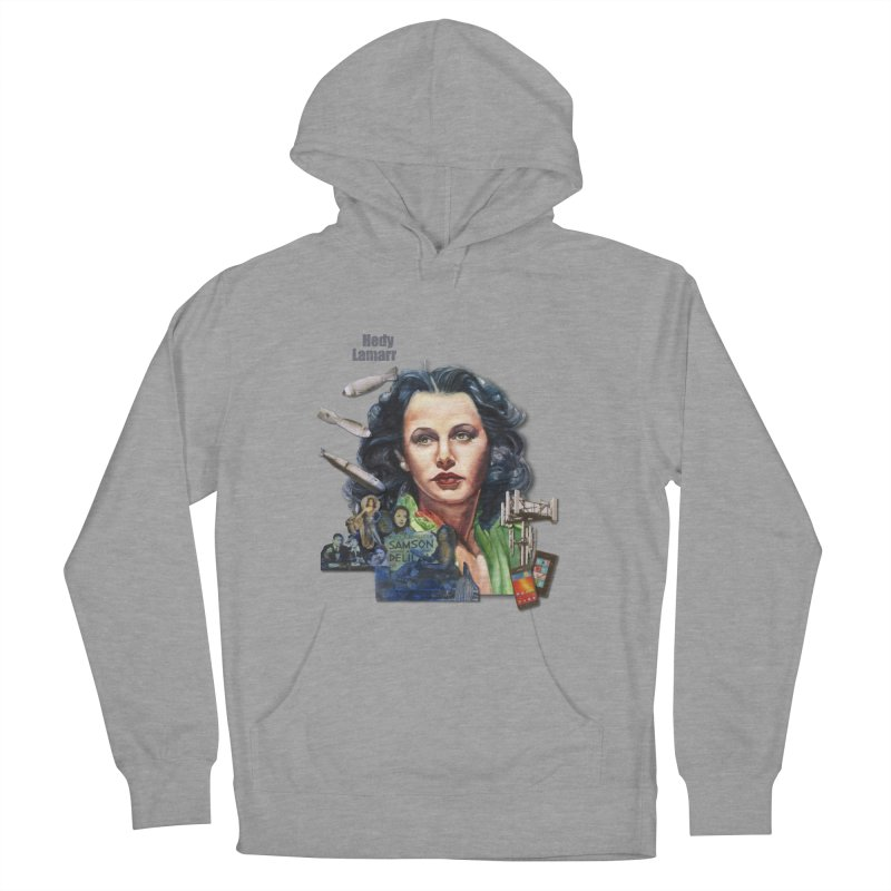Hedy Lamarr Women's Pullover Hoody by Afro Triangle's