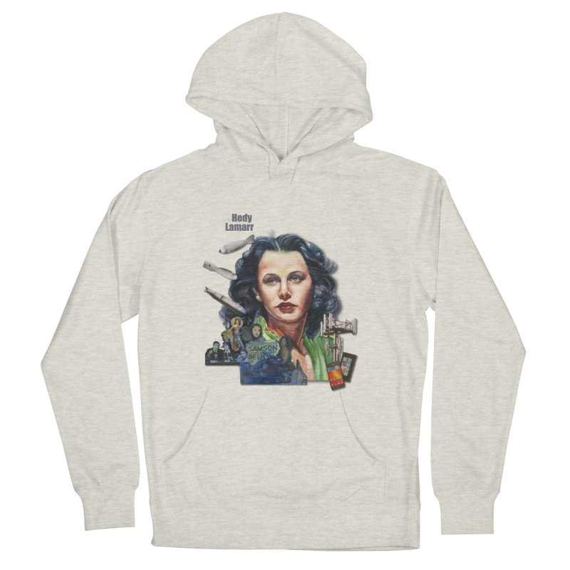 Hedy Lamarr Men's Pullover Hoody by Afro Triangle's