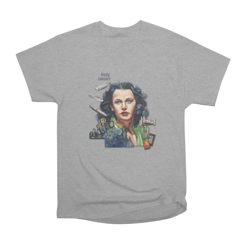 Hedy Lamarr Women's Classic Unisex T-Shirt by Afro Triangle's
