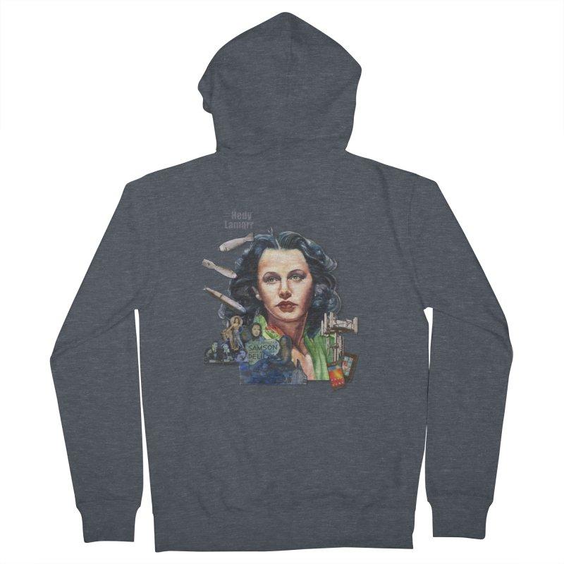 Hedy Lamarr Women's Zip-Up Hoody by Afro Triangle's