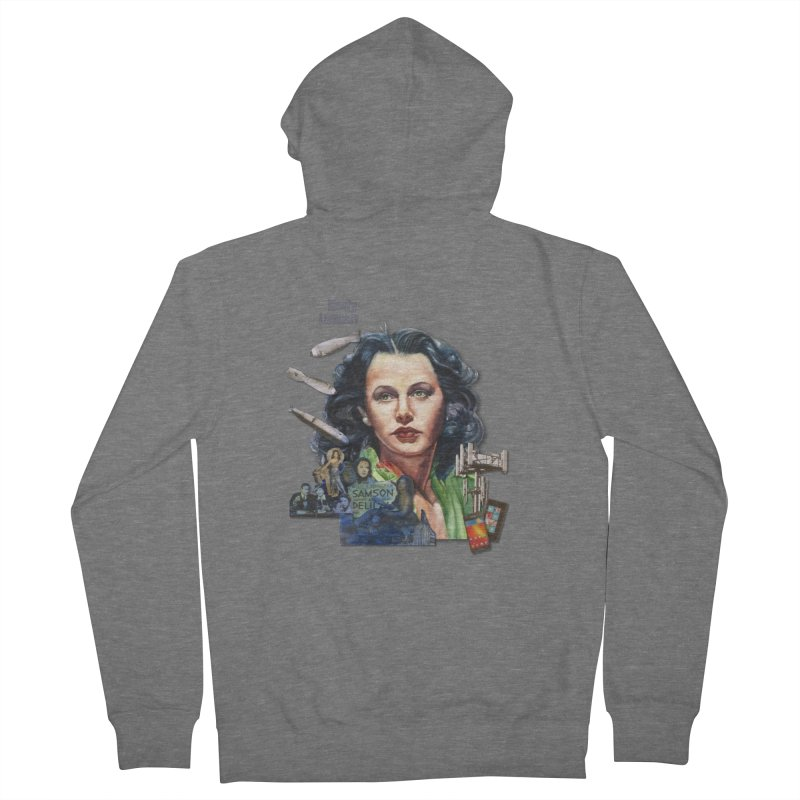 Hedy Lamarr Women's French Terry Zip-Up Hoody by Afro Triangle's
