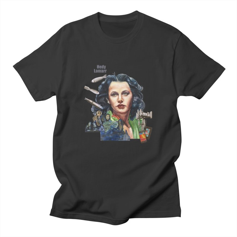 Hedy Lamarr Women's Unisex T-Shirt by Afro Triangle's