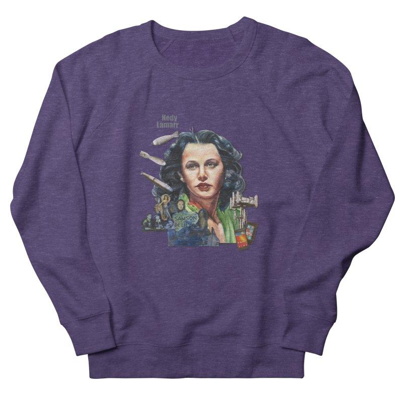 Hedy Lamarr Women's Sweatshirt by Afro Triangle's