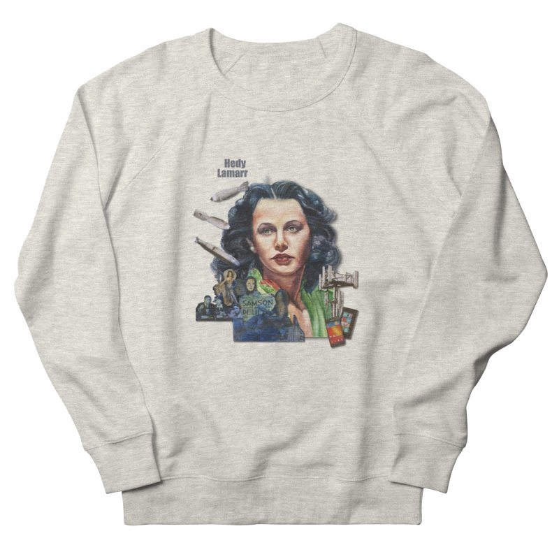 Hedy Lamarr Women's Sweatshirt by Afro Triangle's