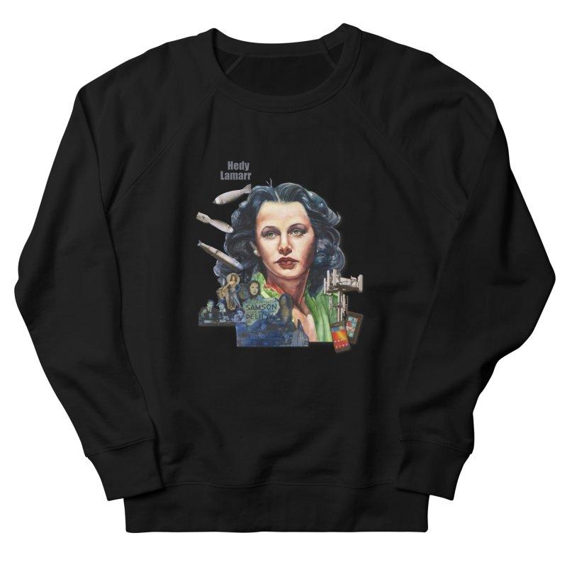 Hedy Lamarr Men's Sweatshirt by Afro Triangle's