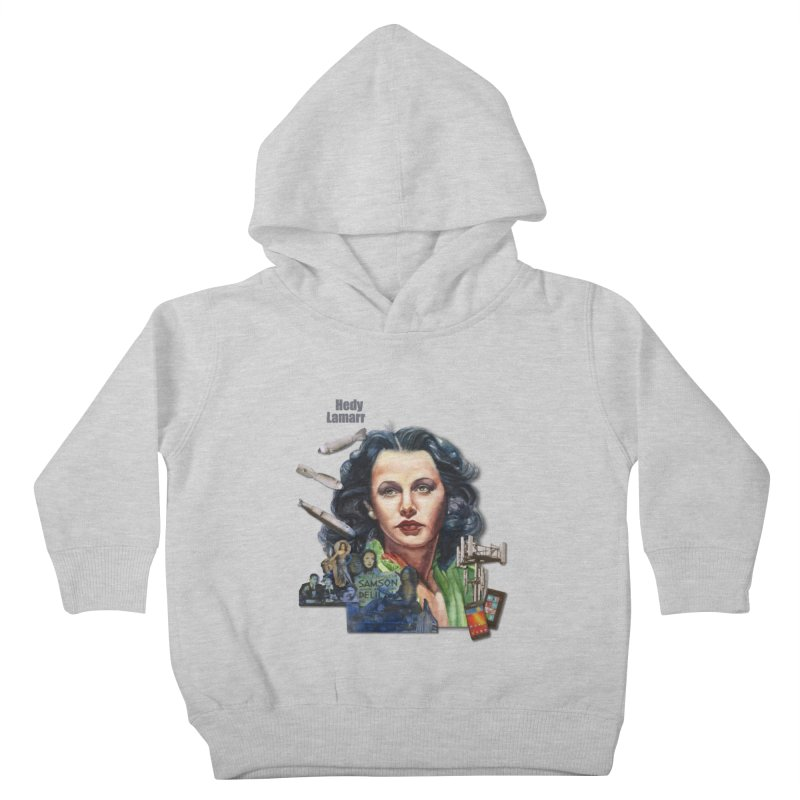 Hedy Lamarr Kids Toddler Pullover Hoody by Afro Triangle's