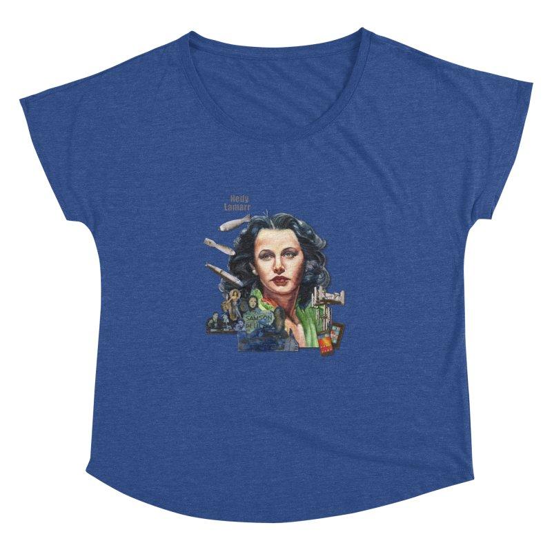Hedy Lamarr Women's Dolman by Afro Triangle's