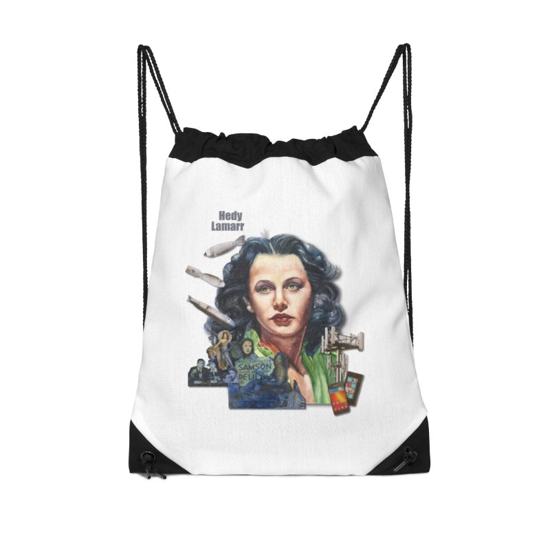 Hedy Lamarr Accessories Bag by Afro Triangle's