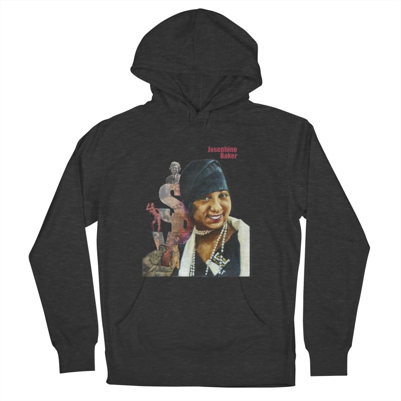 Josephine Baker Women's French Terry Pullover Hoody by Afro Triangle's