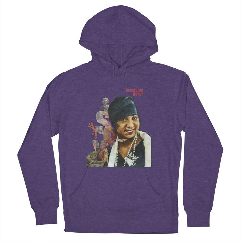 Josephine Baker in Women's Pullover Hoody Heather Purple by Afro Triangle's