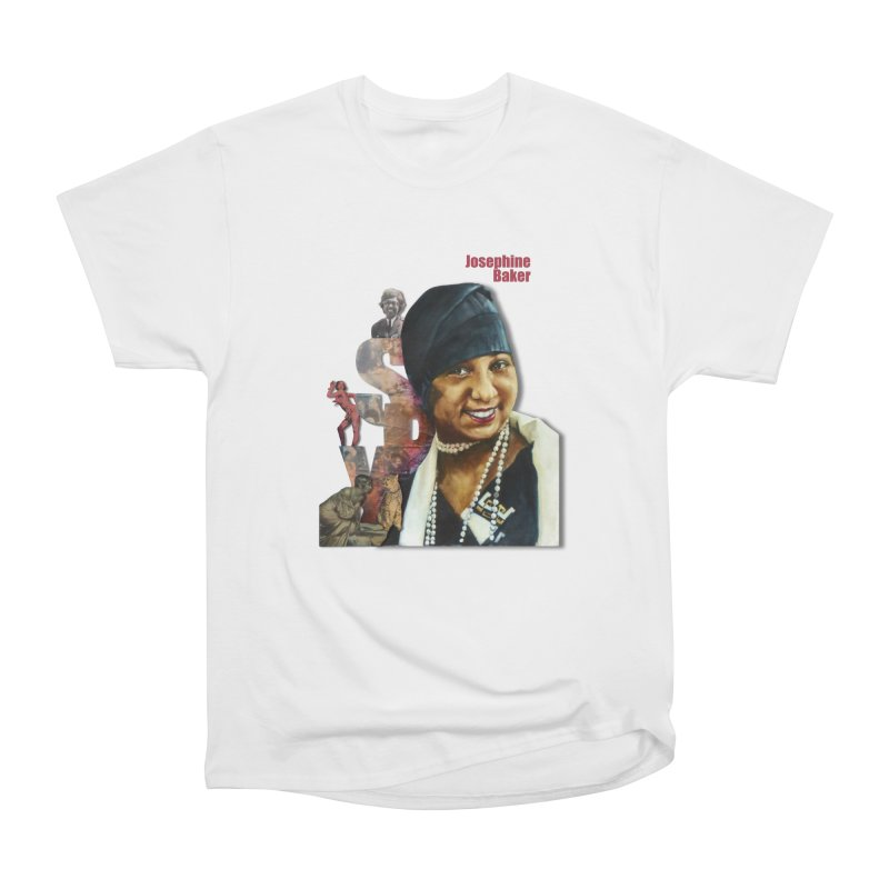 Josephine Baker Women's Heavyweight Unisex T-Shirt by Afro Triangle's