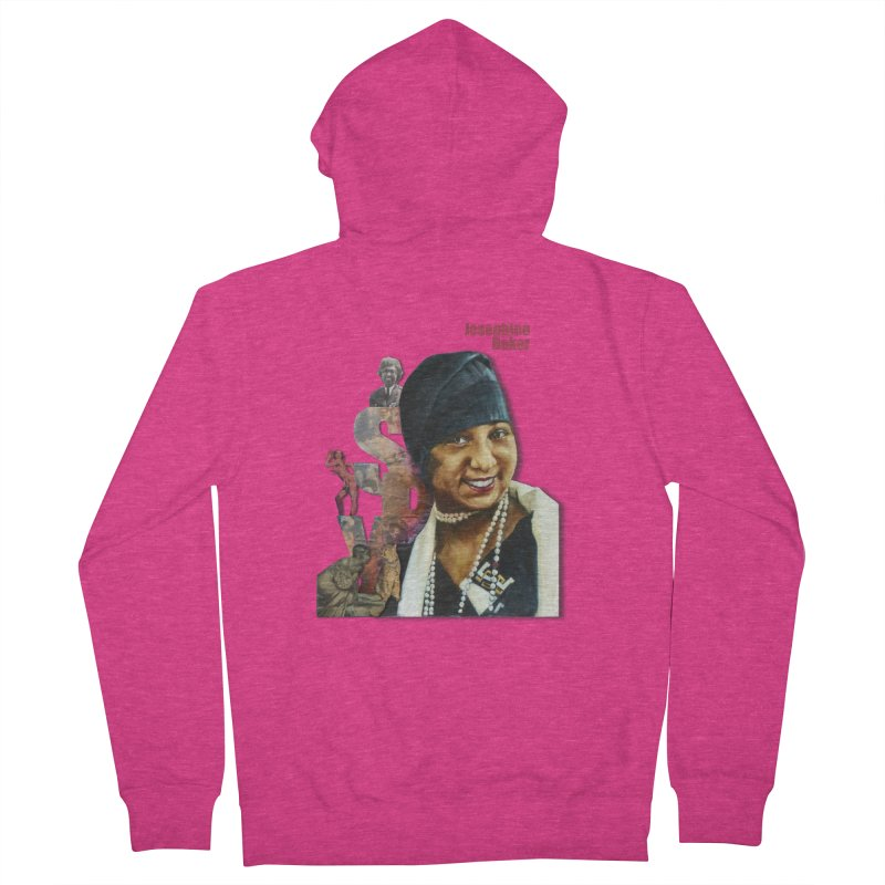 Josephine Baker Women's French Terry Zip-Up Hoody by Afro Triangle's