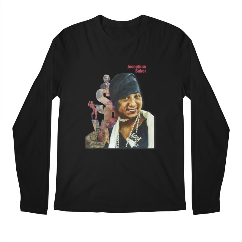 Josephine Baker Men's Longsleeve T-Shirt by Afro Triangle's