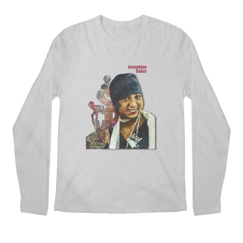 Josephine Baker Men's Regular Longsleeve T-Shirt by Afro Triangle's